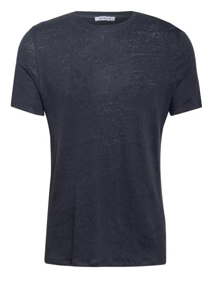 DISTRETTO 12 T-Shirt aus Leinen, Farbe: DUNKELBLAU (Bild 1)