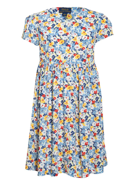 POLO RALPH LAUREN Kleid , Farbe: WEISS/ BLAU/ GELB (Bild 1)