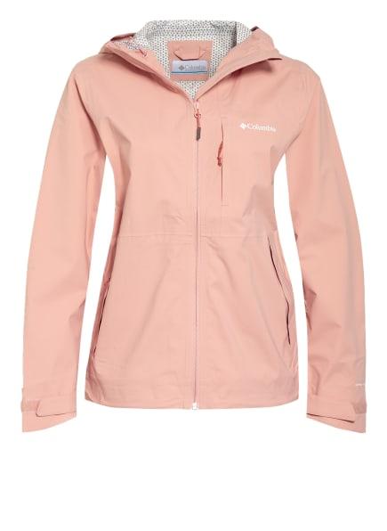 Columbia Outdoor-Jacke OMNI-TECH™ AMPLI-DRY™, Farbe: ROSÉ (Bild 1)