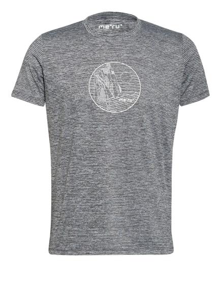 me°ru' T-Shirt ROTOWARO, Farbe: HELLGRAU/ GRAU/ DUNKELGRAU (Bild 1)