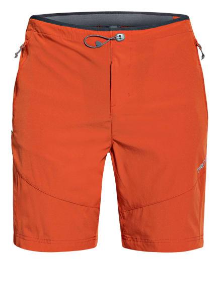me°ru' Outdoor-Shorts KUMEU, Farbe: DUNKELORANGE/ GRAU (Bild 1)