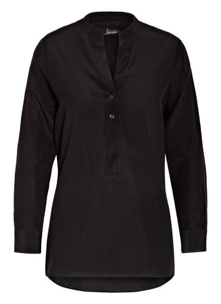 Jadicted Blusenshirt aus Seide, Farbe: SCHWARZ (Bild 1)