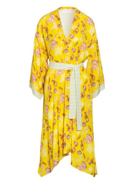 IVI collection Kleid , Farbe: GELB/ LACHS/ WEISS (Bild 1)