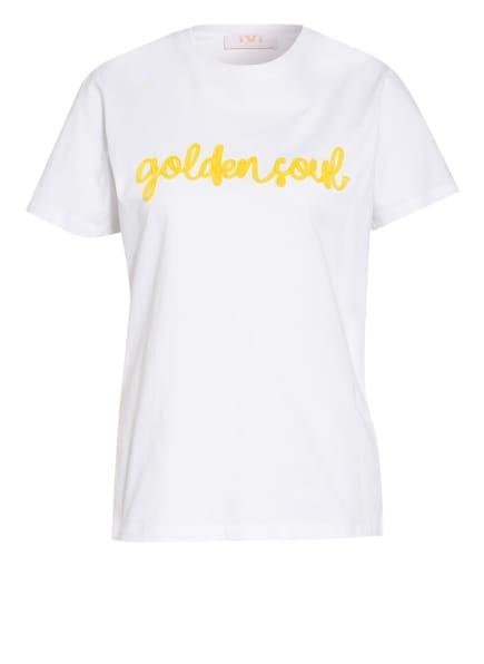 IVI collection T-Shirt , Farbe: WEISS/ GELB (Bild 1)