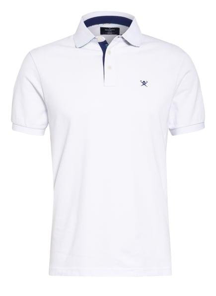 HACKETT LONDON Piqué-Poloshirt Slim Fit , Farbe: WEISS (Bild 1)