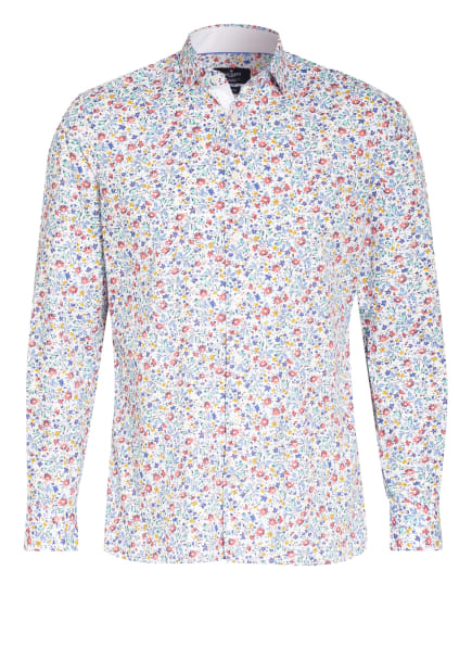 HACKETT LONDON Hemd Slim Fit, Farbe: WEISS/ HELLBLAU/ ROT (Bild 1)