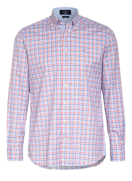 HACKETT LONDON Hemd Classic Fit, Farbe: WEISS/ HELLBLAU/ ORANGE (Bild 1)