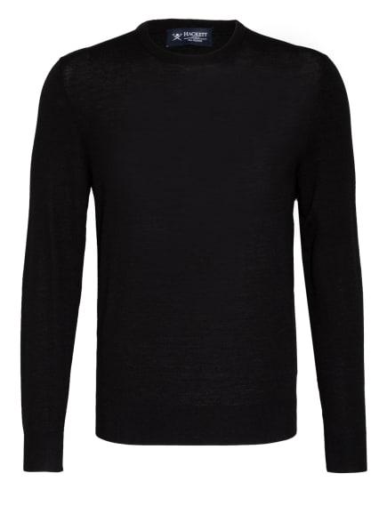 HACKETT LONDON Pullover aus Merino-Wolle, Farbe: SCHWARZ (Bild 1)