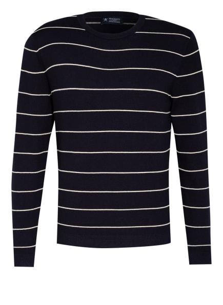 HACKETT LONDON Pullover, Farbe: DUNKELBLAU/ WEISS (Bild 1)
