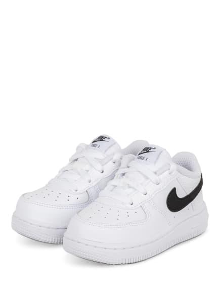 Nike Sneaker FORCE 1, Farbe: WEISS/ SCHWARZ (Bild 1)