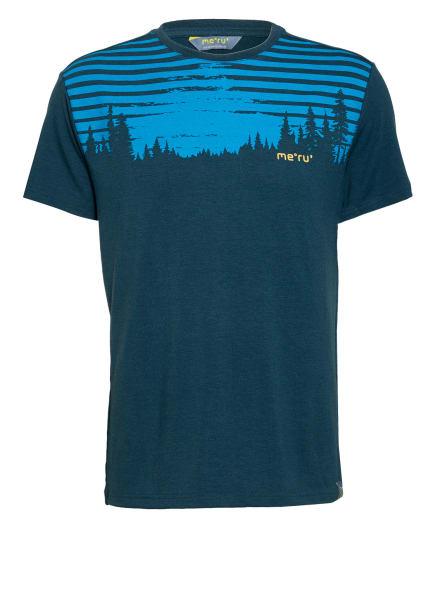 me°ru' T-Shirt MOSS, Farbe: PETROL/ BLAU (Bild 1)