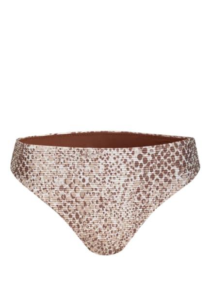SEAFOLLY Bikini-Hose SERPENTINE , Farbe: CREME/ BRAUN (Bild 1)