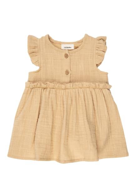 Lil' Atelier Kleid, Farbe: HELLBRAUN (Bild 1)