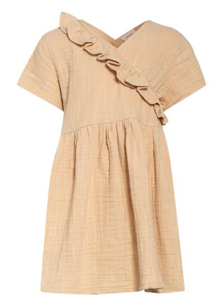 Lil' Atelier Kleid, Farbe: CAMEL (Bild 1)