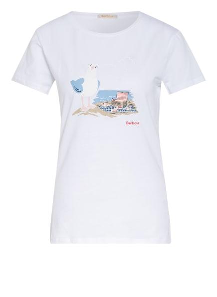 Barbour T-Shirt MELROSE, Farbe: WEISS (Bild 1)