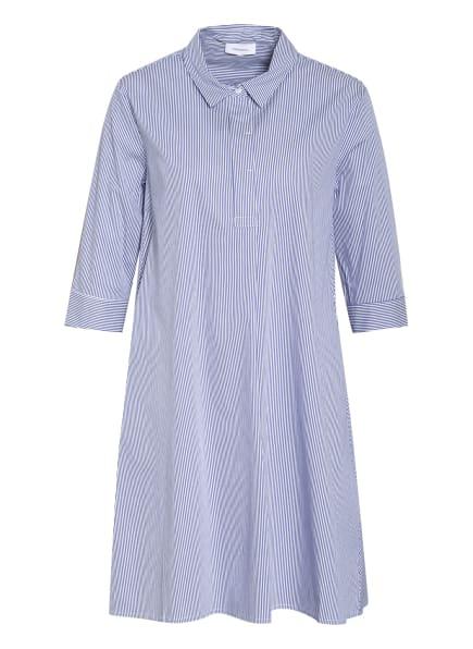 darling harbour Kleid mit 3/4-Arm , Farbe: BLAU/ WEISS (Bild 1)