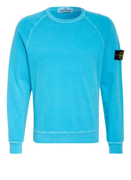 STONE ISLAND Sweatshirt , Farbe: TÜRKIS (Bild 1)