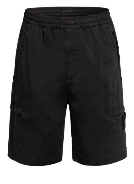 STONE ISLAND Cargo-Shorts Regular Fit, Farbe: SCHWARZ (Bild 1)