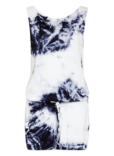 Juvia Jumpsuit, Farbe: WEISS/ DUNKELBLAU (Bild 1)