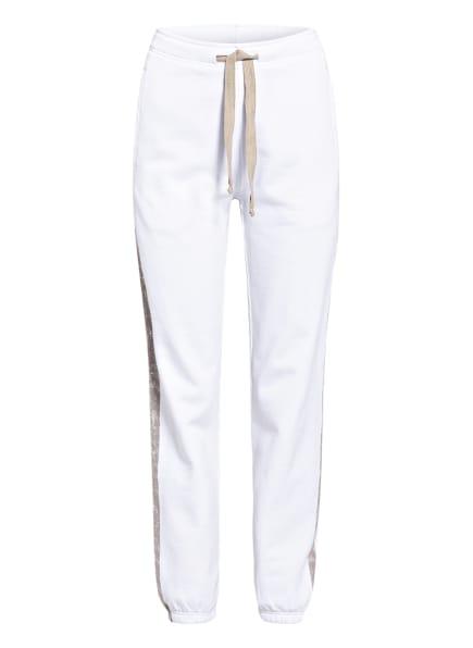 Juvia Sweatpants , Farbe: WEISS/ BEIGE (Bild 1)
