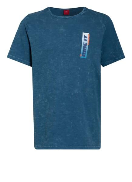 s.Oliver RED T-Shirt, Farbe: PETROL (Bild 1)