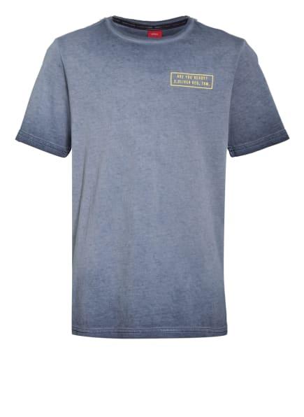 s.Oliver RED T-Shirt, Farbe: BLAUGRAU (Bild 1)