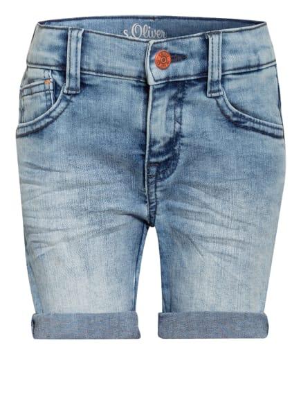 s.Oliver RED Jeans-Shorts Slim FIt , Farbe: HELLBLAU (Bild 1)