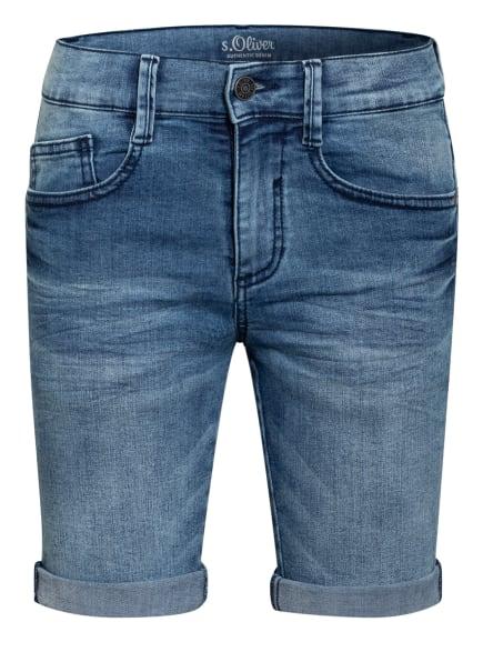 s.Oliver RED Jeans-Shorts, Farbe: BLAU (Bild 1)