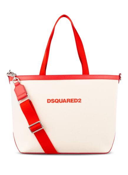 DSQUARED2 Shopper, Farbe: ROT/ ECRU (Bild 1)