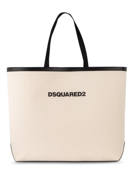 DSQUARED2 Shopper, Farbe: SCHWARZ/ ECRU (Bild 1)