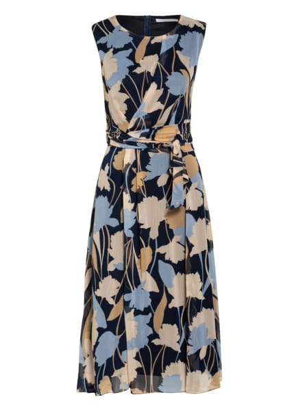 BETTY&CO Kleid, Farbe: DUNKELBLAU/ BEIGE/ HELLBLAU (Bild 1)