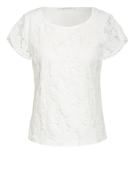 BETTY&CO Blusenshirt aus Spitze, Farbe: WEISS (Bild 1)