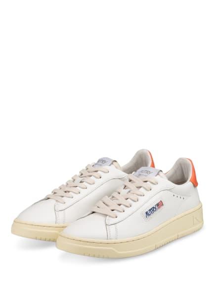 AUTRY Plateau-Sneaker DALLAS, Farbe: WEISS/ LACHS (Bild 1)