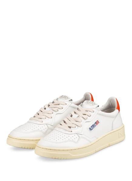 AUTRY Plateau-Sneaker, Farbe: WEISS/ ORANGE (Bild 1)