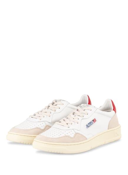 AUTRY Sneaker , Farbe: WEISS/ BEIGE/ ROT (Bild 1)