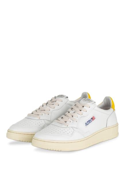 AUTRY Sneaker, Farbe: WEISS/ GELB (Bild 1)