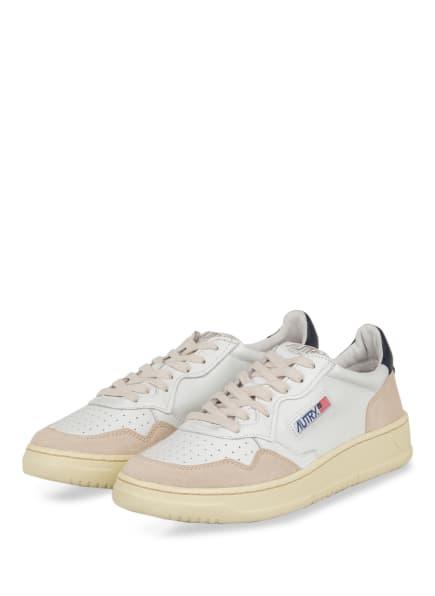 AUTRY Sneaker, Farbe: WEISS/ BEIGE/ DUNKELBLAU (Bild 1)