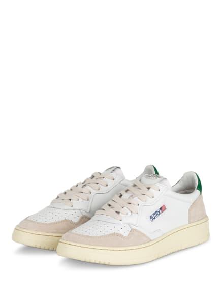 AUTRY Sneaker, Farbe: WEISS/ BEIGE/ GRÜN (Bild 1)