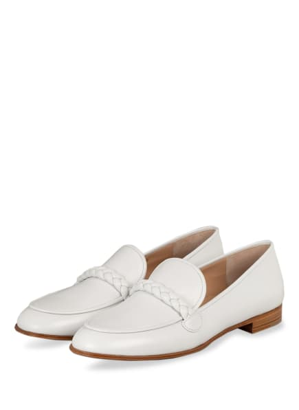 Gianvito Rossi Loafer BELEM, Farbe: WEISS (Bild 1)