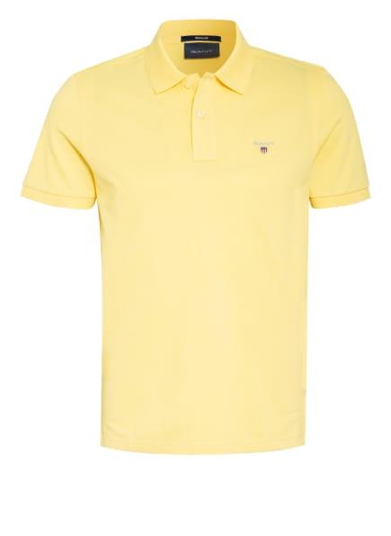 GANT Piqué-Poloshirt, Farbe: GELB (Bild 1)