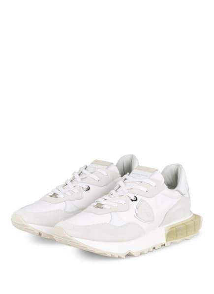 PHILIPPE MODEL Sneaker LA RUE, Farbe: WEISS/ HELLGRAU (Bild 1)