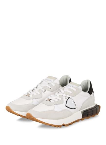 PHILIPPE MODEL Sneaker LA RUE , Farbe: WEISS/ HELLGRAU (Bild 1)