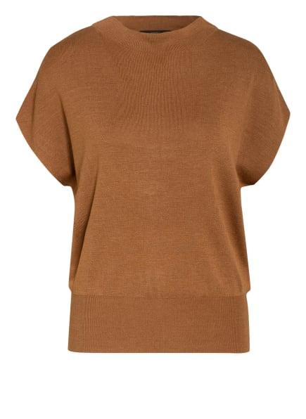 windsor. Strickshirt aus Seide, Farbe: COGNAC (Bild 1)