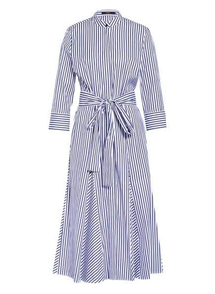 windsor. Kleid mit 3/4-Arm, Farbe: DUNKELBLAU/ WEISS (Bild 1)