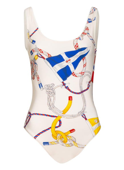 ETRO Badeanzug , Farbe: CREME/ ROT/ BLAU (Bild 1)