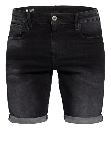 G-Star RAW Jeans-Shorts 3301 Slim Fit, Farbe: 9887 Medium Aged Grey (Bild 1)