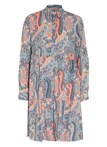 Smith&Soul Kleid , Farbe: BLAU/ GELB/ LACHS (Bild 1)