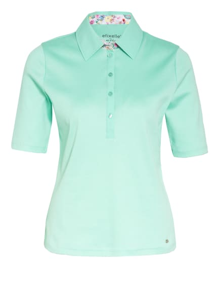 efixelle Jersey-Poloshirt, Farbe: MINT (Bild 1)
