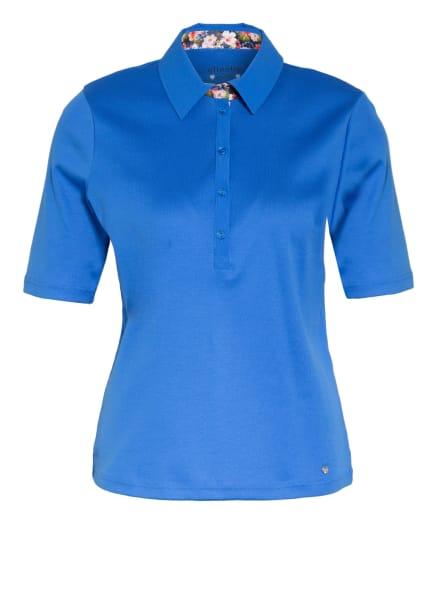 efixelle Jersey-Poloshirt, Farbe: BLAU (Bild 1)