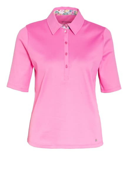 efixelle Jersey-Poloshirt, Farbe: NEONPINK (Bild 1)